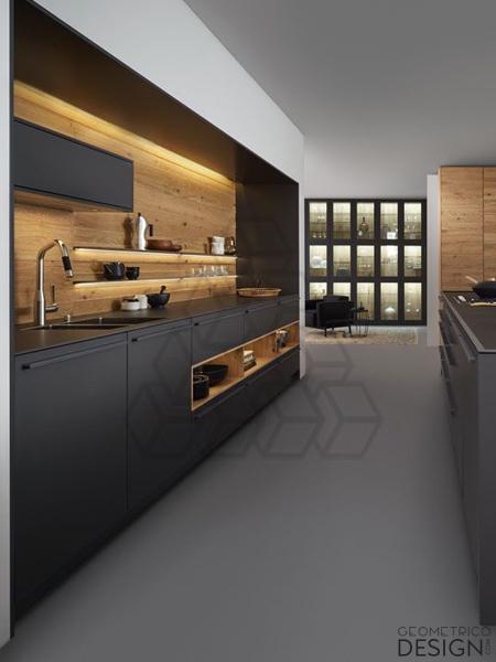 Kuchnia W Czerni Geometricodesign Com More Than Furniture